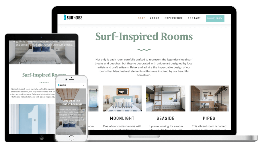 Responsive Design for Surf-Inspired Rooms